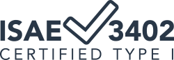 ISAE 3402 Certified Type 1