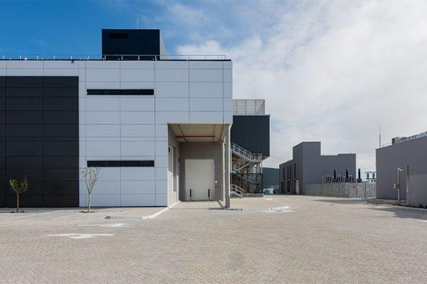 Teraco CT2 Cata Centre - Phase 1 Complete